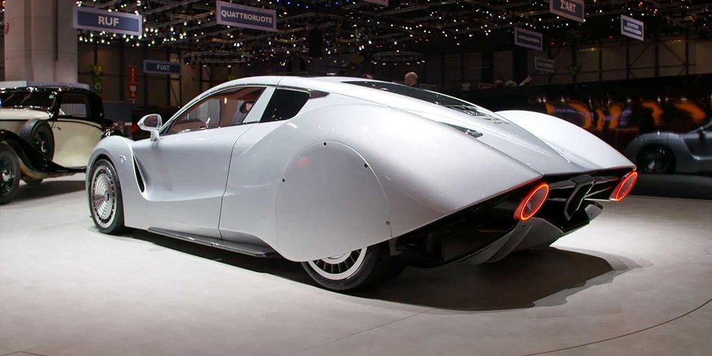 Возрожденная Hispano Suiza показала 1020-сильный суперкар в стиле 1930-х 2
