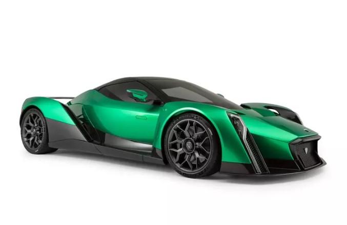 Дизайнер McLaren F1 улучшил сингапурский электрогиперкар Dendrobium 1