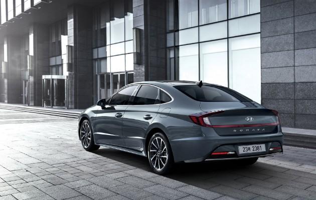 Hyundai представил восьмое поколение седана Sonata 1