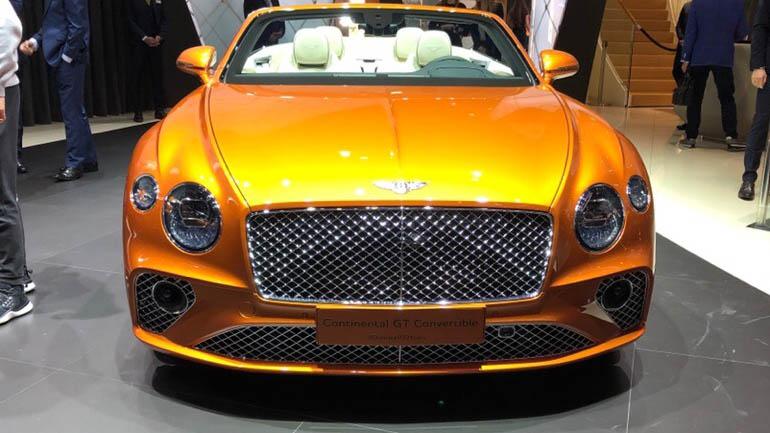 Bentley презентовала в Женеве Continental GT Number 9 2