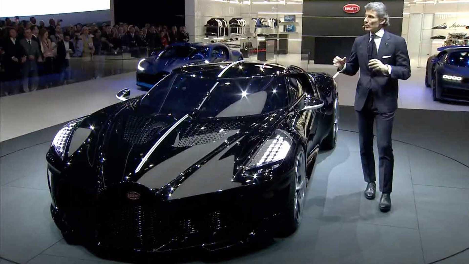 Bugatti сделала La Voiture Noire — самый дорогой автомобиль в мире 1