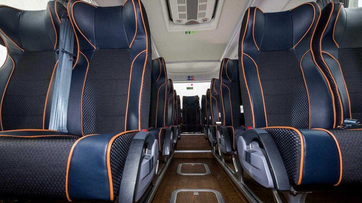Показаны первые автобусы на водороде от Geely 2