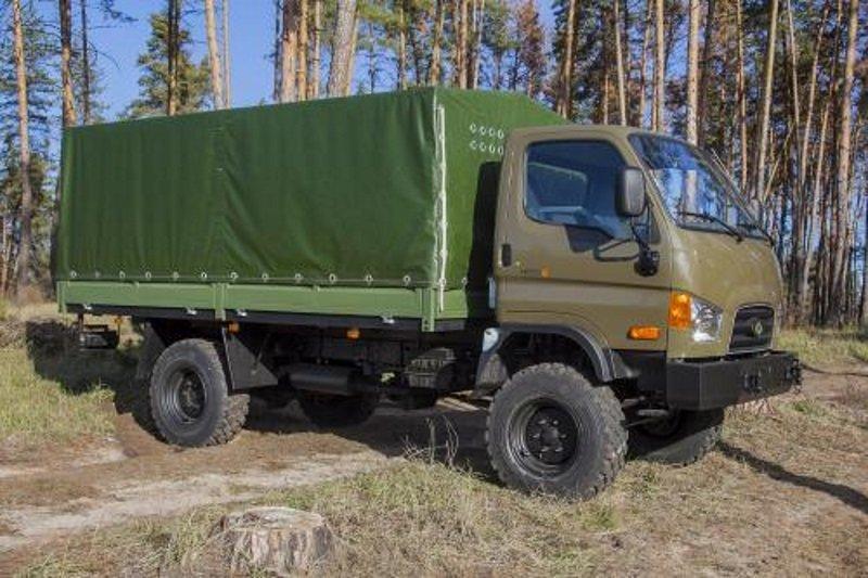 В Украине готовят корейскую замену советским ГАЗ-66 1