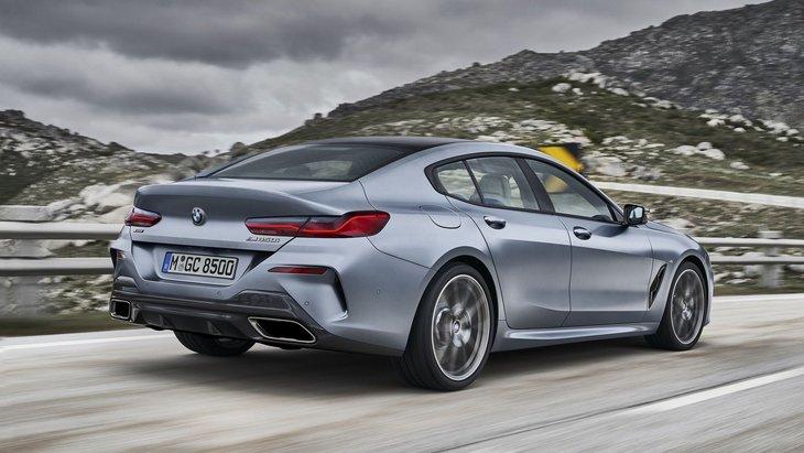 BMW официально представила 8 Series Gran Coupe 2
