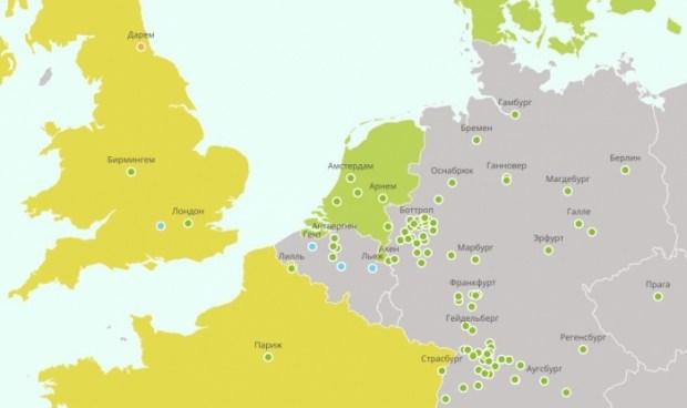 Greenpeace создала карту городов, отказывающихся от автомобилей с ДВС 1