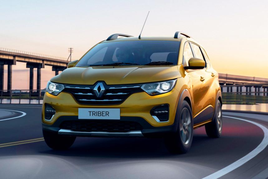 Представлен семиместный микровэн Renault Triber 1