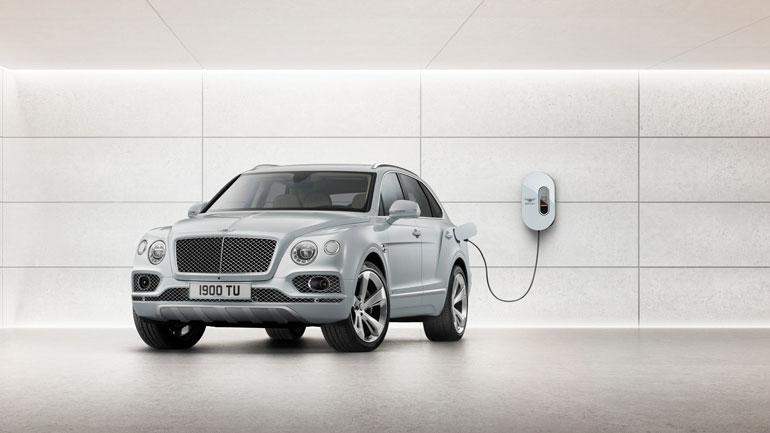 К 2025 году все модели Bentley будут электрифицированы 1
