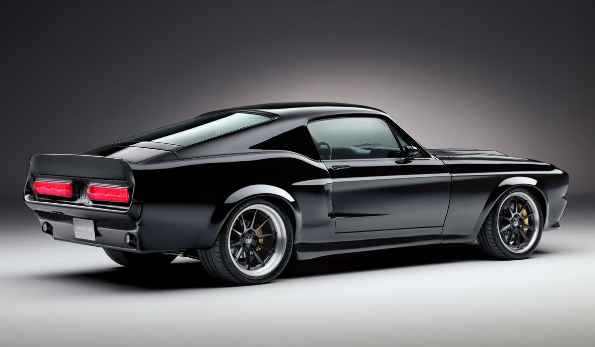 В Англии дебютировал Mustang c электрическим полным приводом 3
