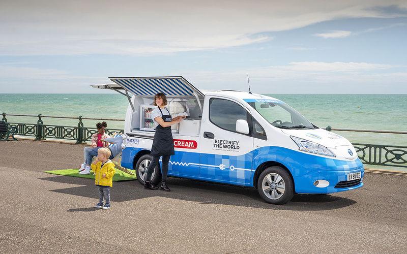 Nissan теперь угощает мороженым 1