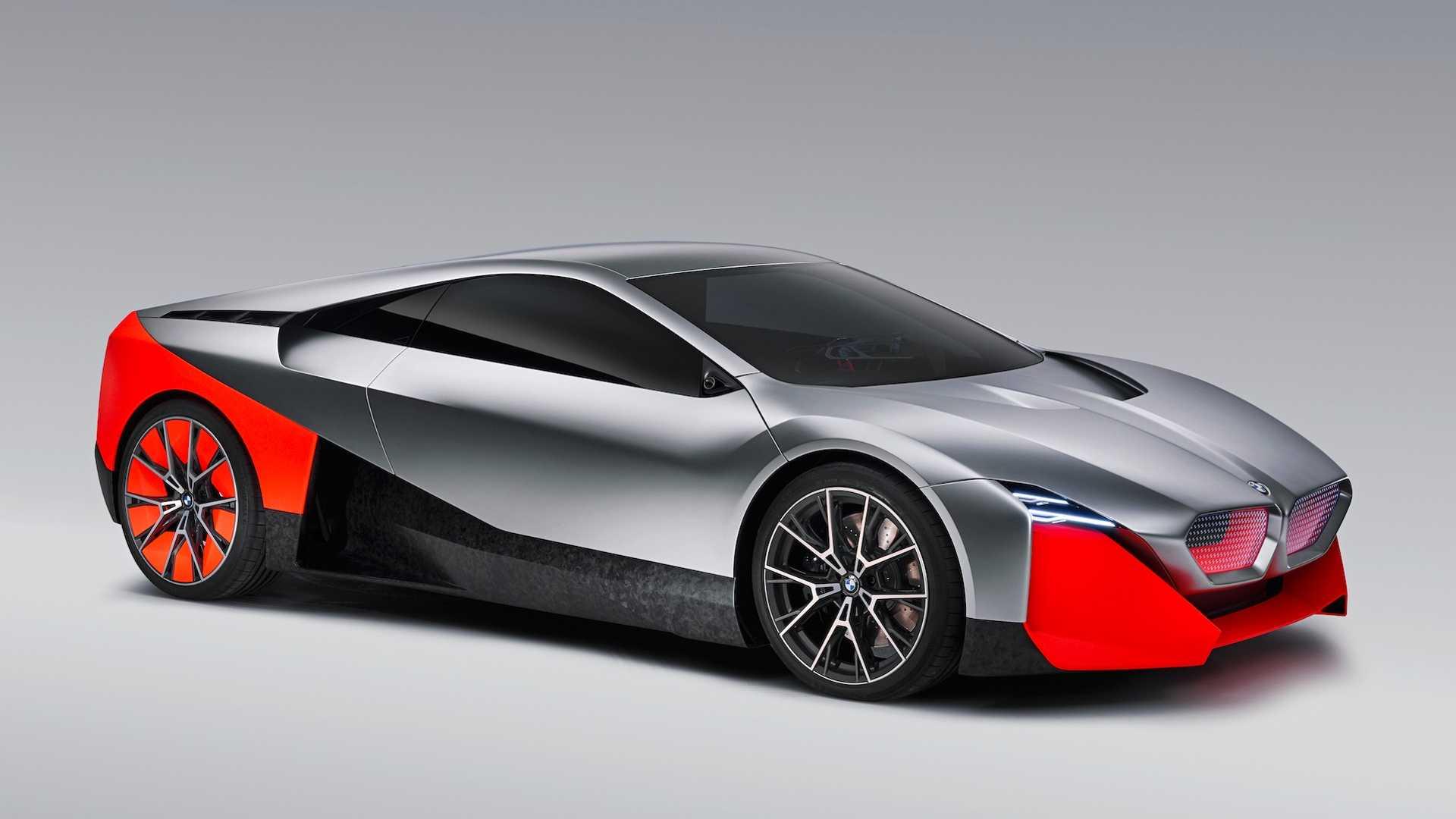 BMW показал гибридное будущее M-моделей на футуристичном концепте 2