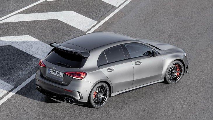 Mercedes представил AMG A 45 и AMG CLA 45 2