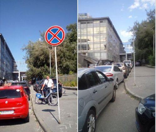 Водителей, нарушающих правила парковки, упрекнули в злостном вандализме 1