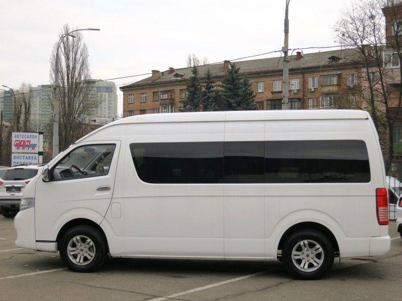 Интересный двойник Toyota Hiace в Украине 2