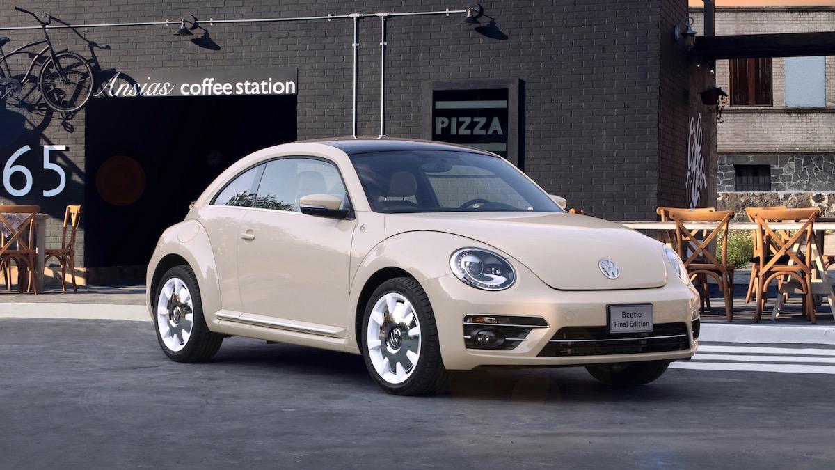 Volkswagen завершил выпуск Beetle 1