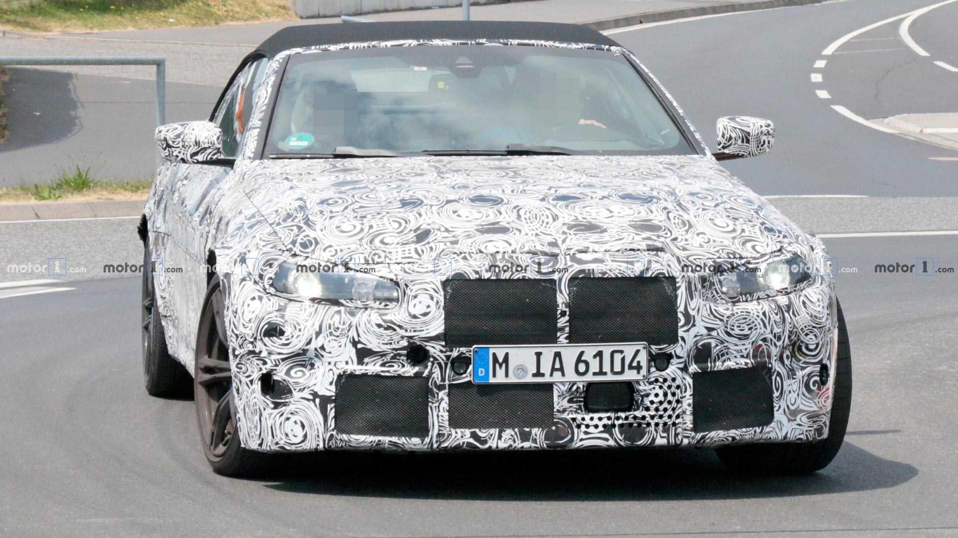 Фотошпионы засекли очень быстрый кабриолет BMW 1