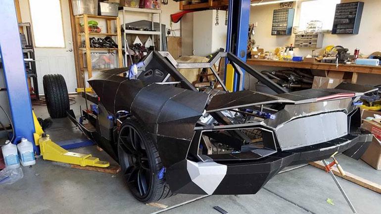 Lamborghini Aventador напечатали на 3D-принтере 1