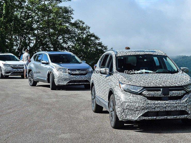 Обновленный Honda CR-V готовится к продаже 1