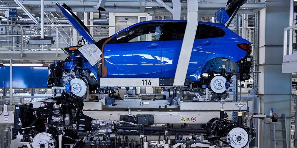 BMW начала производство хэтчбека 1-Series нового поколения 2
