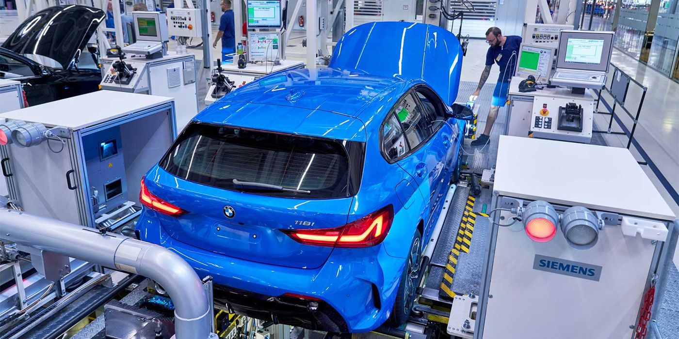 BMW начала производство хэтчбека 1-Series нового поколения 1