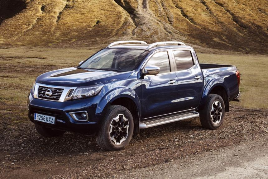 Пикап Nissan Navara пережил техническую модернизацию 1