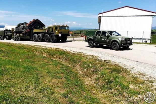 Украинские пикапы Богдан-2351 уже используют силы KFOR в Косово 1