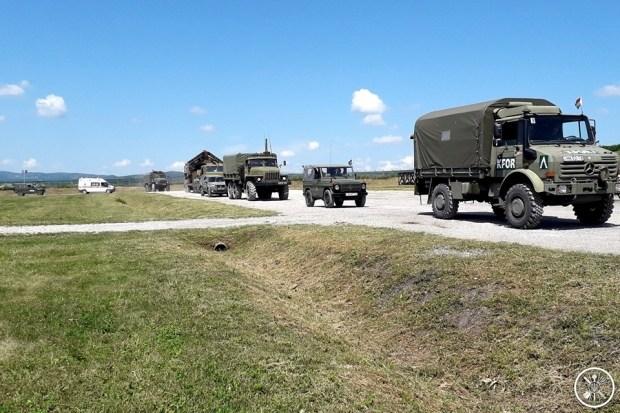 Украинские пикапы Богдан-2351 уже используют силы KFOR в Косово 2
