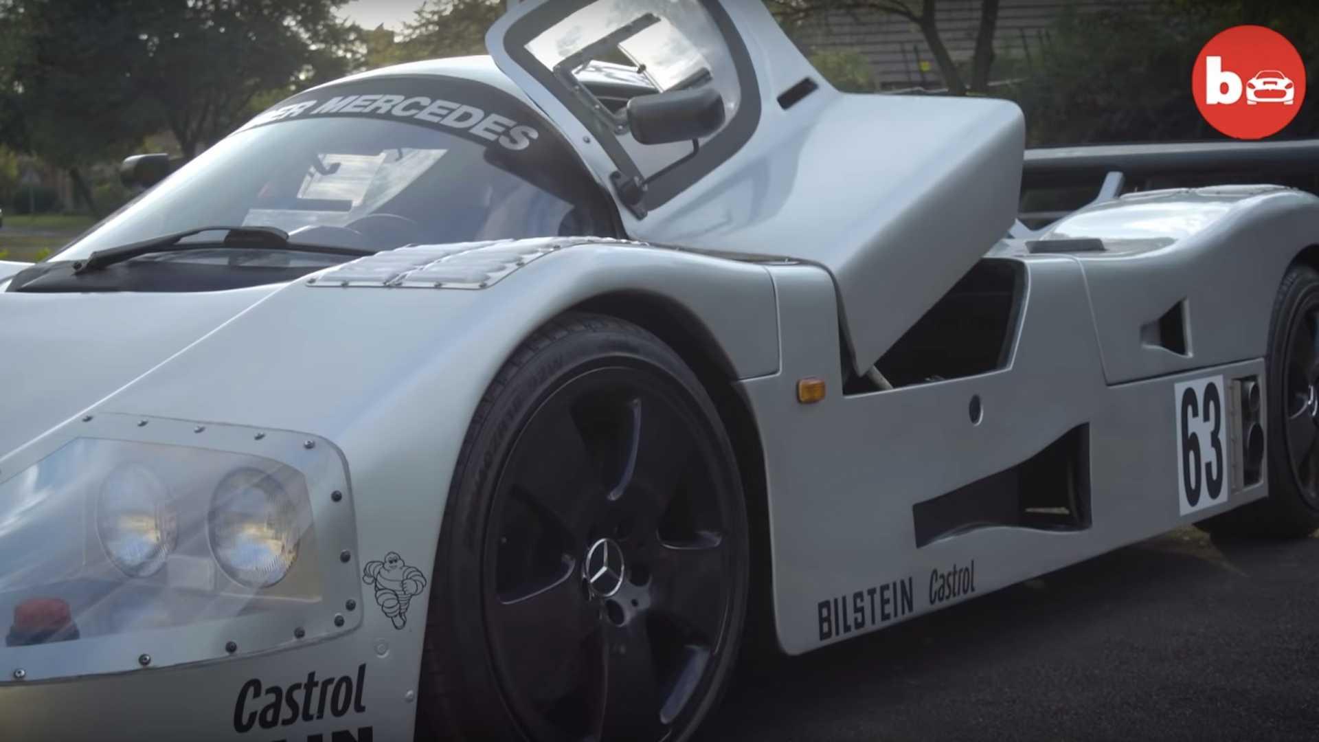 Механик из ЮАР воссоздал гоночный автомобиль Шумахера 1