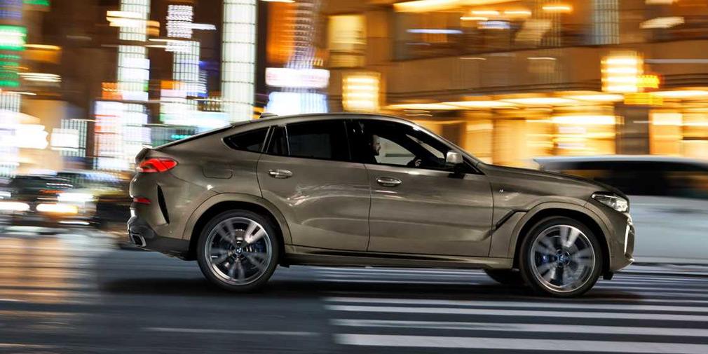 BMW представила X6 нового поколения 1