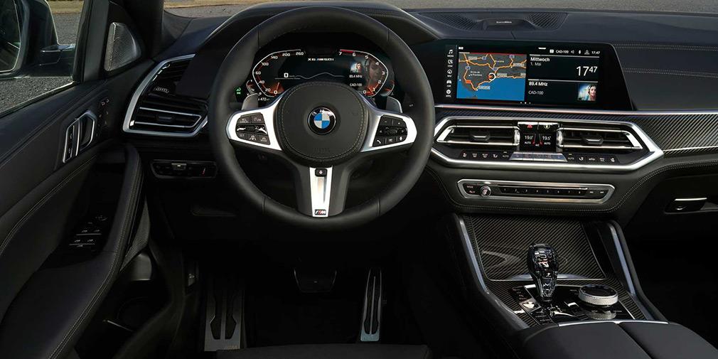 BMW представила X6 нового поколения 2