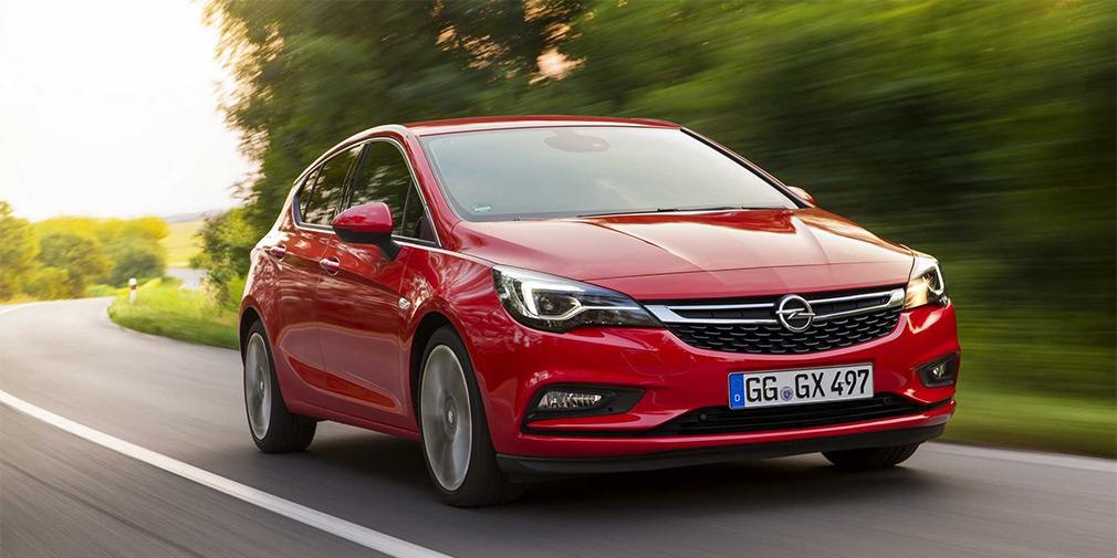 Opel представил обновленную Astra 1