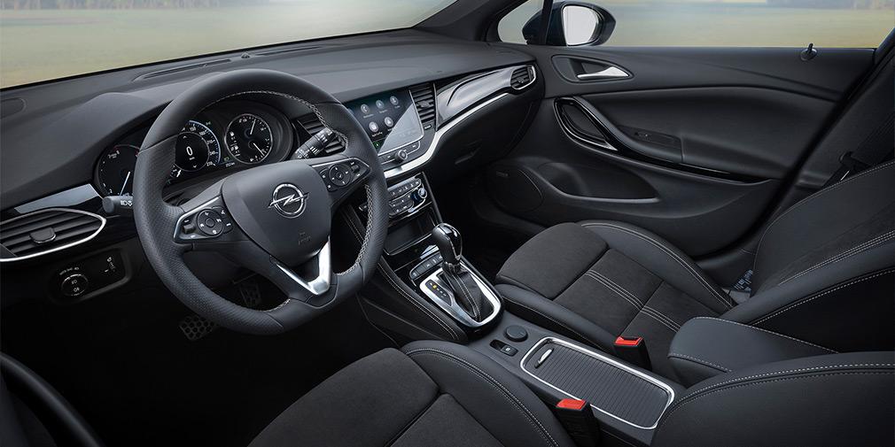 Opel представил обновленную Astra 2