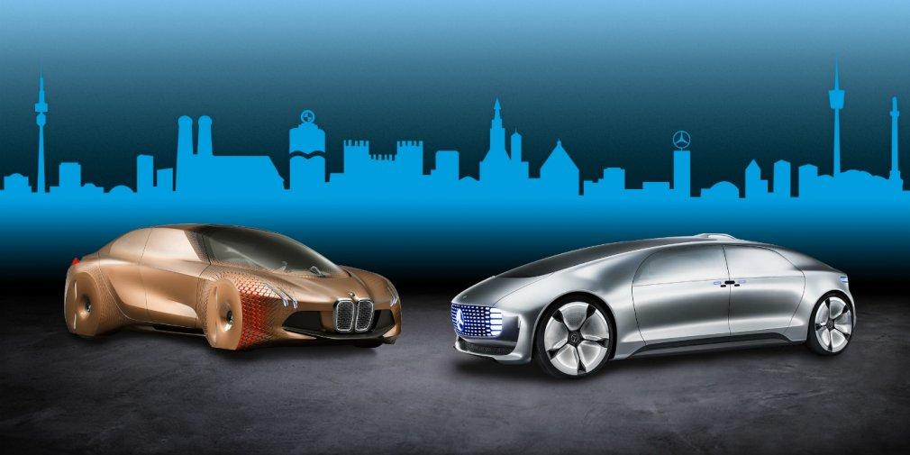 BMW и Mercedes займутся совместной разработкой автопилота 1