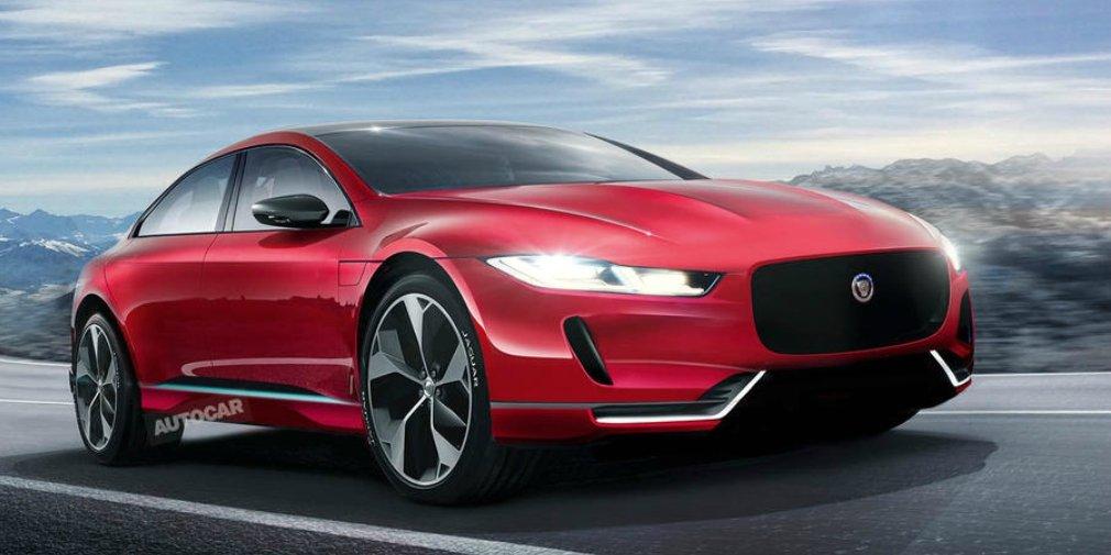 Jaguar подтвердил выпуск электрической версии нового XJ 1