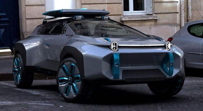 Как мог бы выглядеть Renault Duster из будущего 1