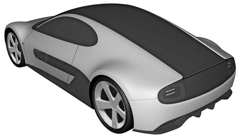 Honda запатентовала новый электроспорткар 2