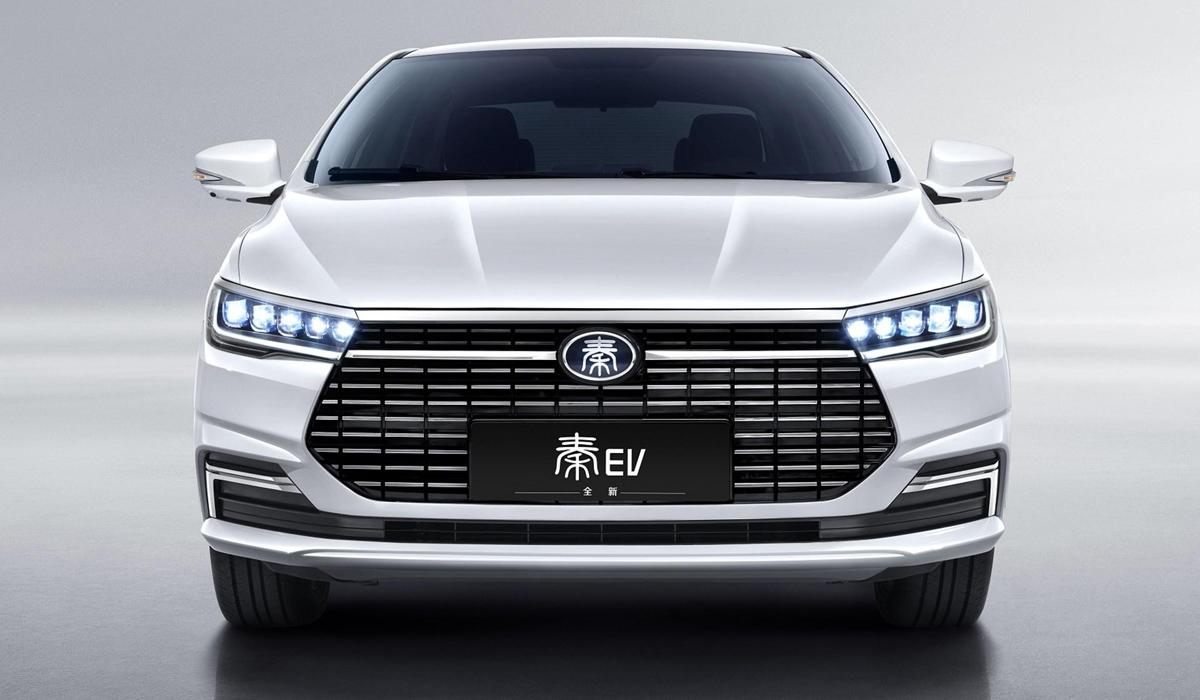 Электроседан BYD Qin EV: обновление и упрощение 1