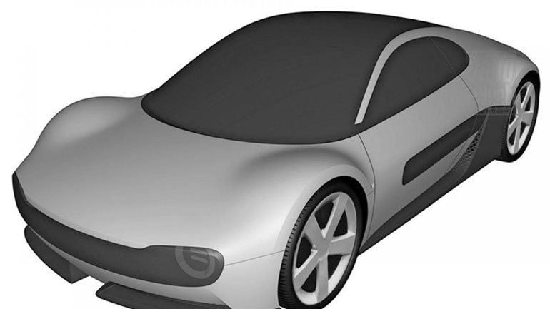 Honda запатентовала новый электроспорткар 1
