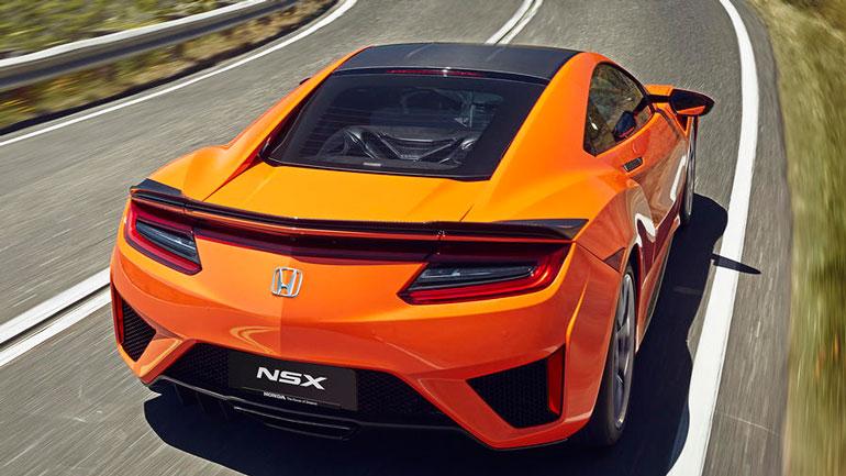 Новый Honda NSX дебютировал в Великобритании 2