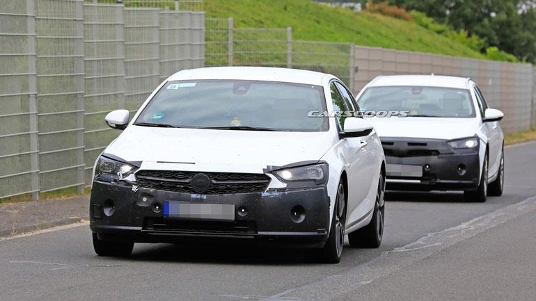 Новый Opel Insignia получит решётку радиатора в стиле Corsa 1