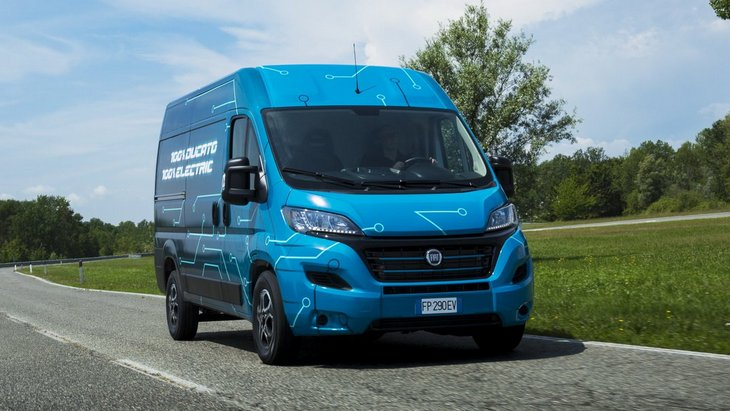 Fiat выпустит электрическую версию микроавтобуса Ducato 1