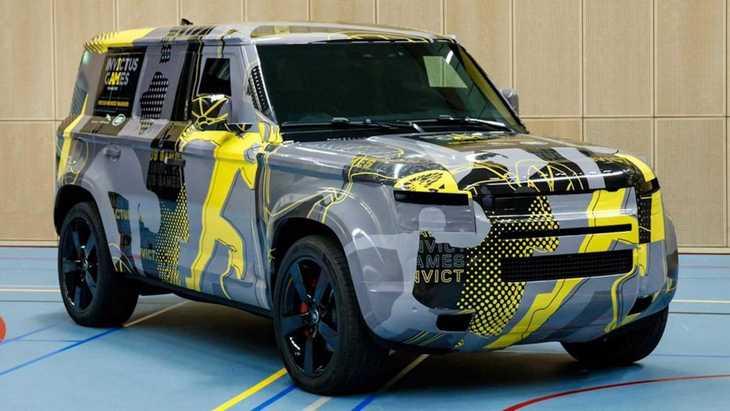 Спецификации и моторы нового Land Rover Defender рассекретили до премьеры 1