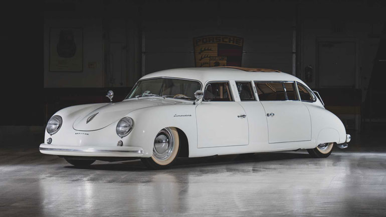 Лимузин Porsche 356 уйдет с молотка 1