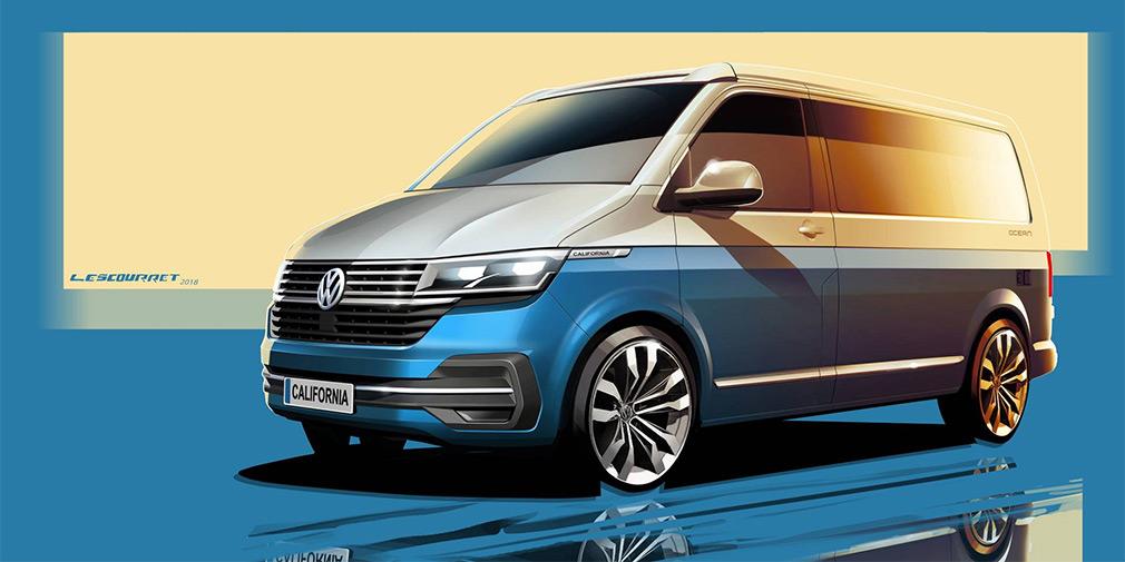Volkswagen анонсировал обновленный кемпер California 1