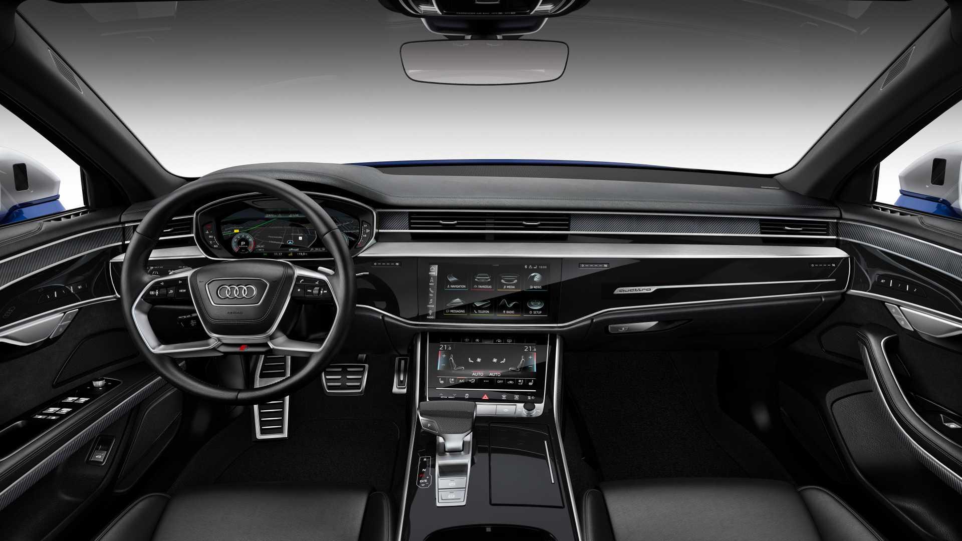 Audi сделала 570-сильный седан S8 3