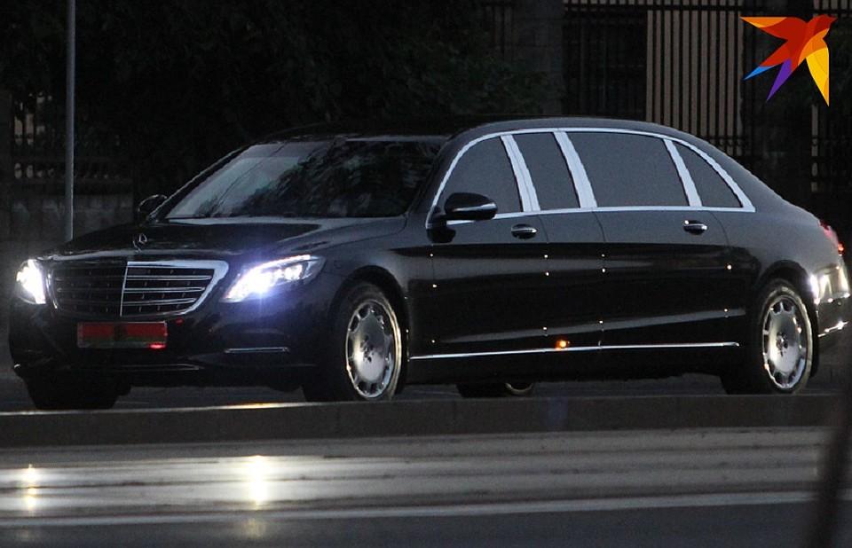 Для президента Беларуси купили очень дорогой лимузин 1