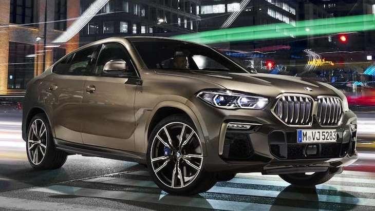 В интернет выложили первые фотографии новой BMW X6 2020 1