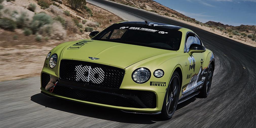 Bentley Continental GT стал рекордсменом Пайкс Пик 1