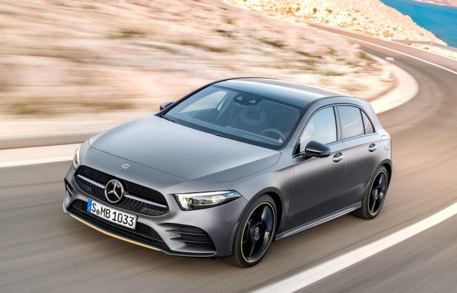 Mercedes-Benz A-класса сможет проехать на батарейках 60 км 1