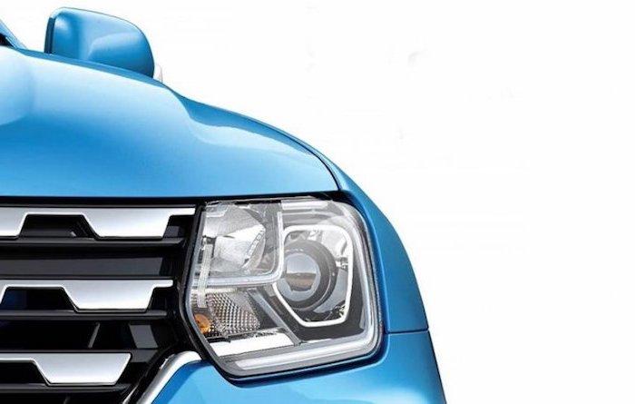 Новый Renault Duster показали на тизерном изображении 1