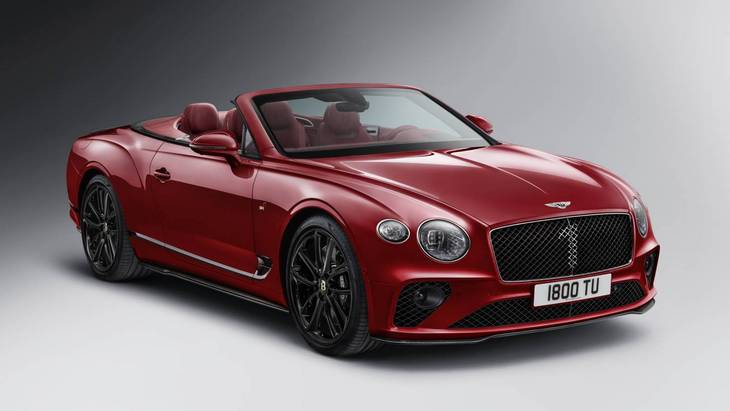 Bentley представил юбилейную версию Continental Number 1 Edition 1